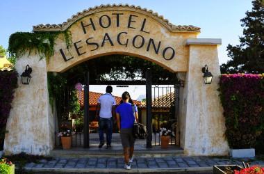 Ingresso hotel LEsagono